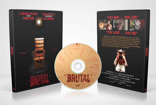Brutal DVD and Soundtrack CD
